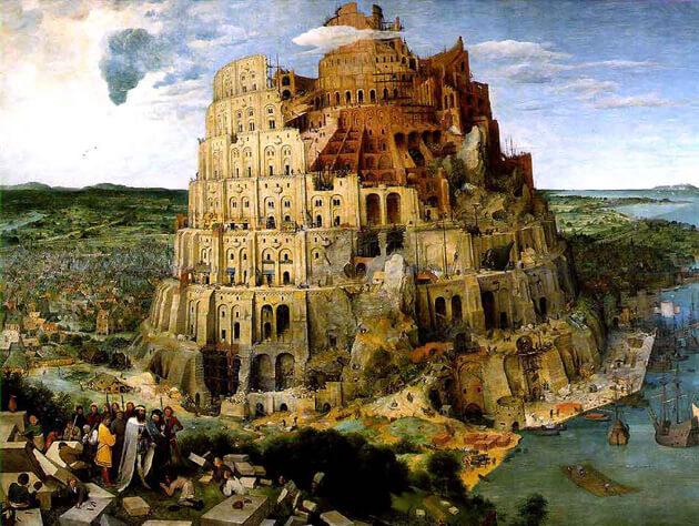バベルの塔って本当にあったのかなぁ?