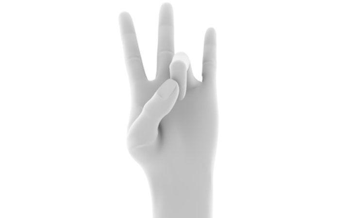こういう手の形って、何か呼び方あるのかな?