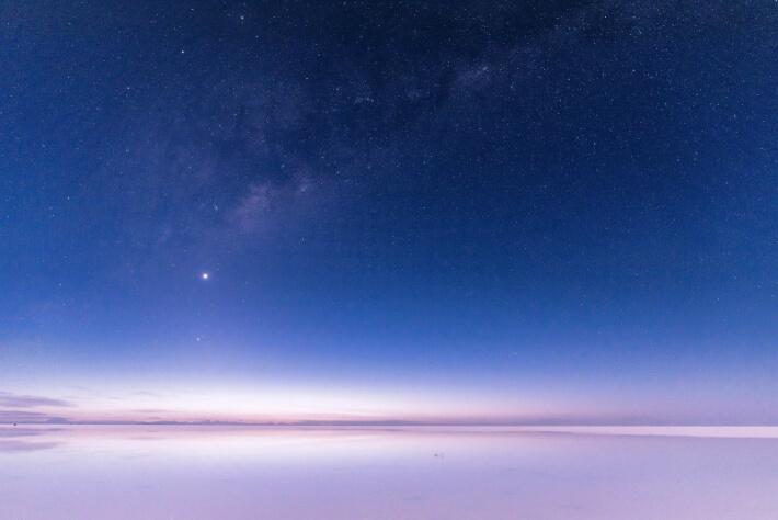 ウユニ塩湖です