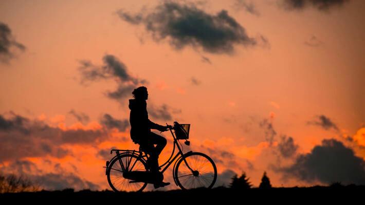 ウォーキングよりサイクリングの方が良いかも