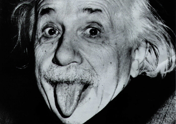 舌と言えばアインシュタインかなやっぱり
