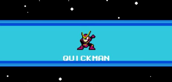 ロックマン2のクイックマンです