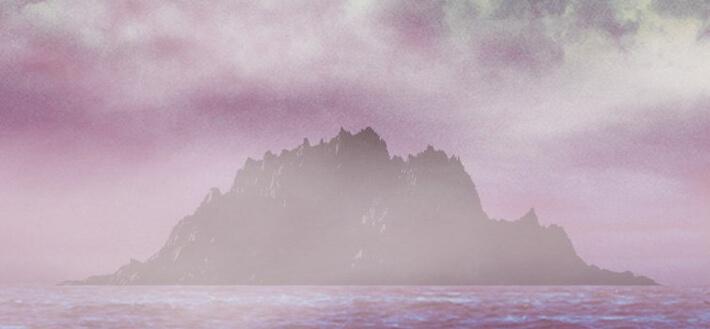 表紙のこれは鬼ヶ島のイメージ図です