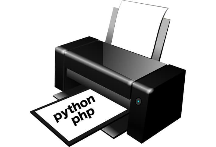 pythonの基本はprint